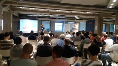 Presentation day in Bilbao
